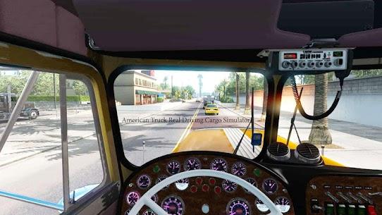 American Truck Real Driving Cargo Simulator 2021 Apk Download New 2021 3