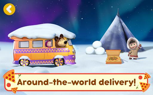 Masha and the Bear Pizzeria Game! Pizza Maker Game  screenshots 14
