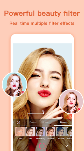 Selfie Camera - Beauty Camera apktram screenshots 3