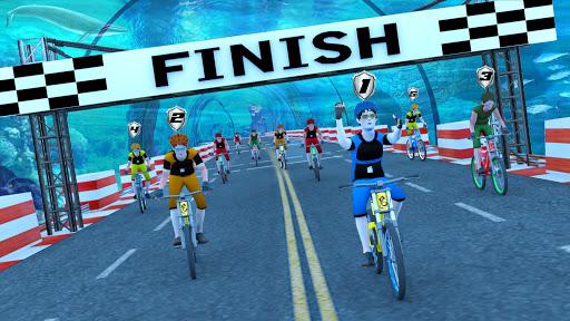 Underwater Stunt Bicycle Race Adventure  screenshots 4