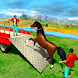 Farm Animal Transporter Truck Driving Game Sim