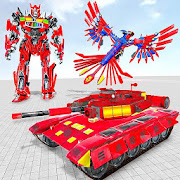 Tank Robot Game 2020 - Eagle Robot Car Games 3D