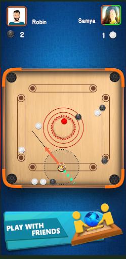 Carrom Star : Multiplayer Carrom board game 1.8 screenshots 4