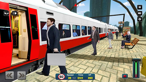 City Train Driver Simulator 2019: Free Train Games 4.4 Screenshots 6