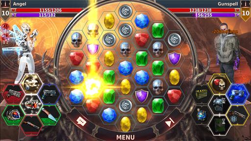 Gunspell 2 u2013 Match 3 Puzzle RPG  screenshots 2