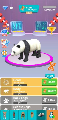 Idle Animal Evolution Apkfinish screenshots 1