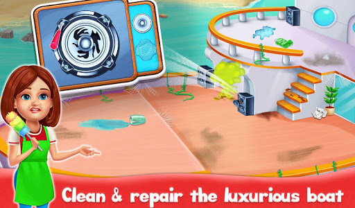 Big Home Cleanup and Wash : House Cleaning Game apkpoly screenshots 7