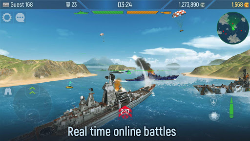 Naval Armada: Battleship craft and best ship games 3.75.3 screenshots 1