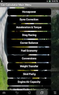 Car Calculator