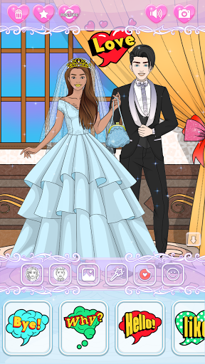 Wedding Coloring Dress Up - Games for Girls  screenshots 15