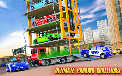 Police Multi Level Car Parking Games: Cop Car Game 2.0.6 screenshots 8