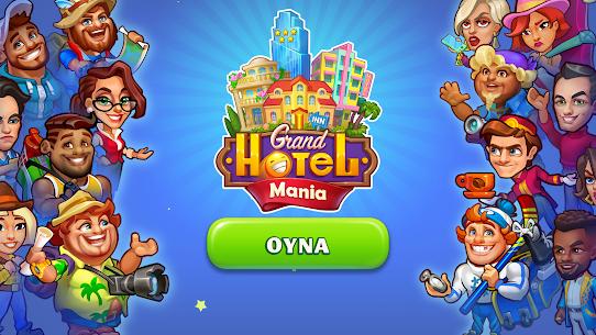 Grand Hotel Mania Otel Oyunları İşletme Oyunu Hileli Apk Güncel 2021** 1