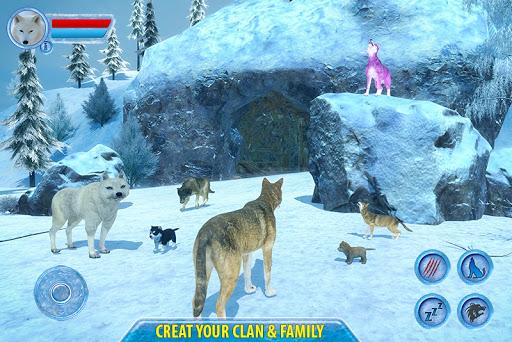 Arctic Wolf Sim 3D  screenshots 1