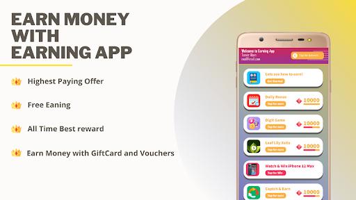 Earning App : Earn with Game  screenshots 2