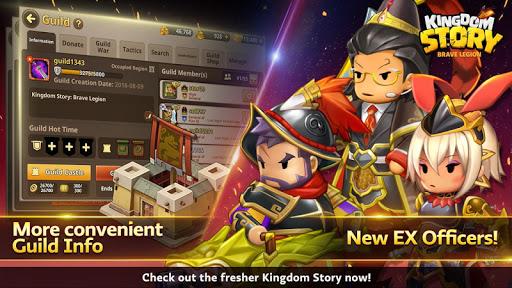 Kingdom Story: Brave Legion apktreat screenshots 1