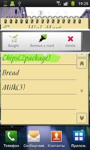 Shopping List Widget Apk 5