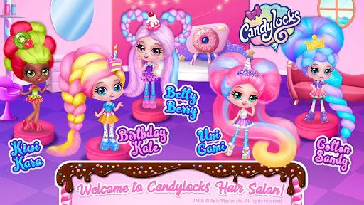 Candylocks Hair Salon - Style Cotton Candy Hair  Screenshots 2