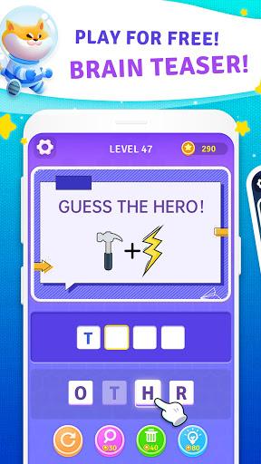 BrainBoom: Word Brain Games, Brain Test Word Games apkpoly screenshots 9