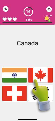 Guess the Flag - World Flags Quiz, Trivia Game screenshots 4