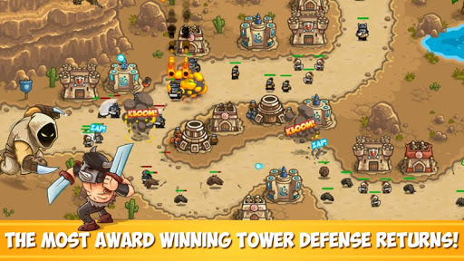 Kingdom Rush Frontiers - Tower Defense Game  screenshots 1