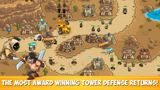 تحميل لعبة Kingdom Rush Frontiers المدفوعة مهكرة [مجانا] 1