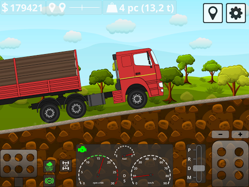 Mini Trucker - 2D offroad truck simulator modavailable screenshots 16