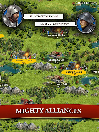 Lords & Knights - Medieval Building Strategy MMO 8.12.0 screenshots 18