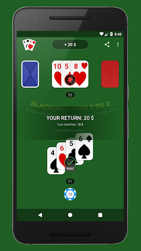 Blackjack - Free & Offline 1.7.1 Screenshots 5