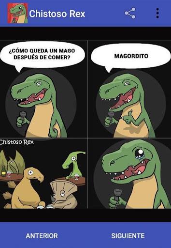 Chistoso Rex Chistes Malos y Divertidos screenshots 1