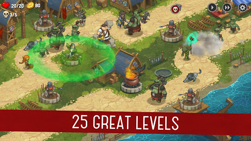 Orcs Warriors: Offline Tower Defense 1.0.28 Screenshots 1