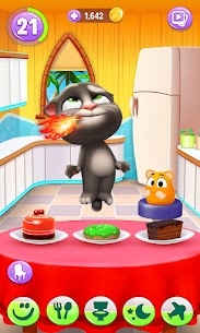 My Talking Tom 2 Mod Apk Unlimited Fun + Unlimited Coins 5