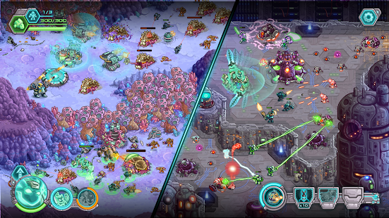 Iron Marines: RTS Offline Echtzeit Strategiespiel Screenshot