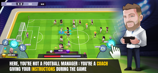 Soccer Arena - Live coaching androidhappy screenshots 1