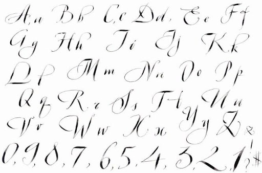 Calligraphy Lettering 1.0 Screenshots 4