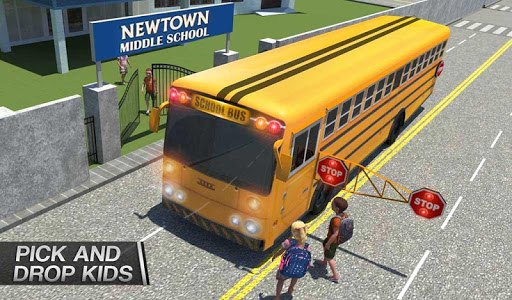 Coach Bus Simulator - City Bus Driving School Test 2.1 screenshots 14