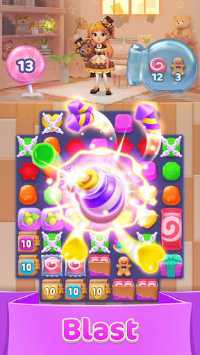 Jellipop Match-Decorate your dream island! 7.8.6 screenshots 1