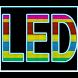 電光掲示板 -電子表示