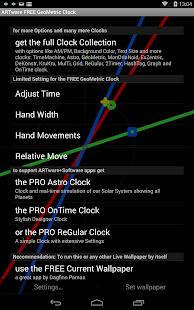 GeoMetric Clock Live Wallpaper