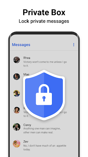 Messages - Messenger for SMS App android2mod screenshots 4