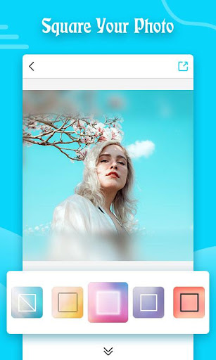 Square Blur- Blur Image Background Music Video Cut 2.33 screenshots 1