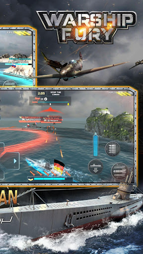 Warship Fury android2mod screenshots 6