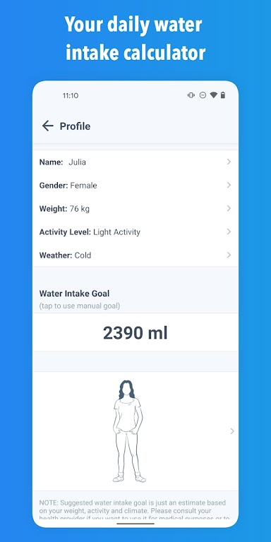 WaterMinder - Water Tracker and Drink Reminder App  poster 6