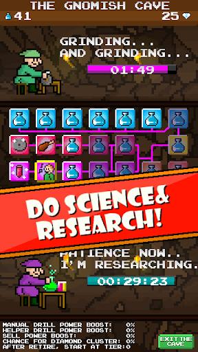 dig away! - idle clicker mining game screenshot 1
