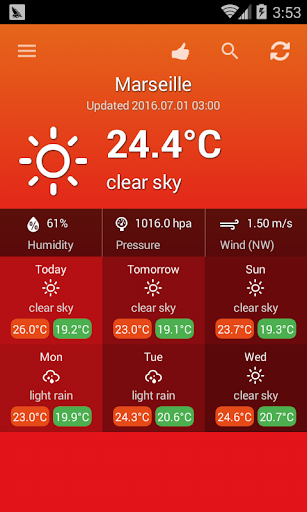 Weather France 1.0.1 Screenshots 2