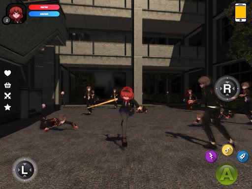 Dead School - Anime Zombie Survival Horror RPG 5.4 screenshots 8