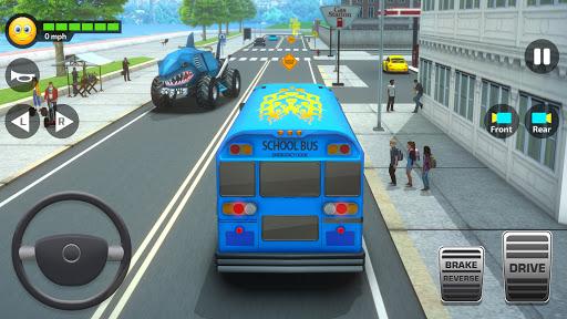 Super High School Bus Simulator und Auto Spiele 3D 2.7 screenshots 3