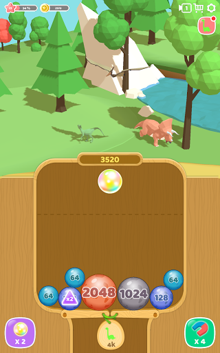Dino 2048: Merge Jurassic World 1.0.9 screenshots 7