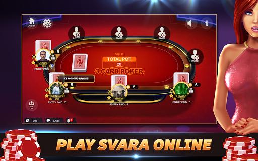 Svara - 3 Card Poker Online Card Game 1.0.12 screenshots 8