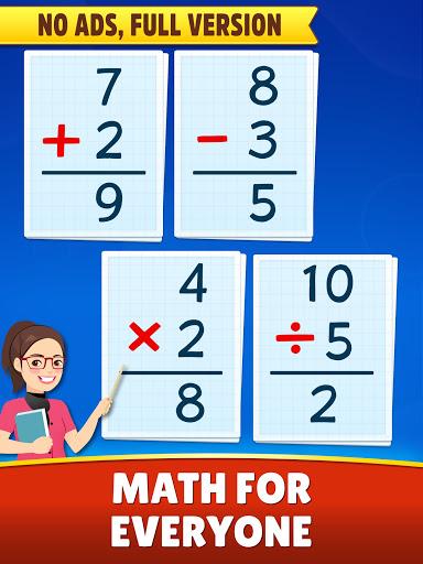 Math Games - Addition, Subtraction, Multiplication Apkfinish screenshots 5