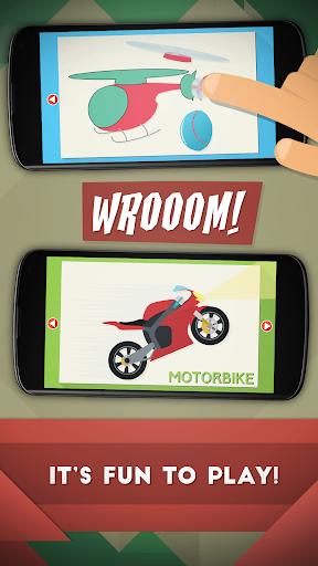 Toddler Kids Car Puzzles Free  screenshots 2